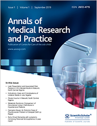 Annals of Medical Research and Practice